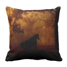 Decorate your home with decorative and throw pillows from Zazzle. Celtic Fantasy Art, Black Stallion, Decorative Throw Pillows, Decorating Your Home, Twilight, Design, Accent Pillows, Decor Pillows