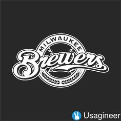 MILWAUKEE BREWERS MLB Sports VINYL DECAL STICKER