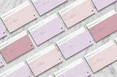 Modern Business Card Template 3pk / Minimalist by NonolaBoutique