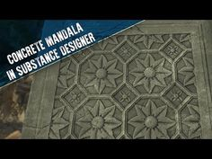 An intermediate walk-through, going over some of the techniques and thought processes involved in creating a seamless concrete mandala material, 100% procedu...