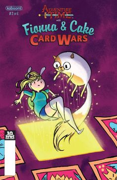 """Adventure time with Fionna & Cake : card wars / """"Adventure Time"""" created by Pendleton Ward ; written by Jen Wang ; Chapter one illustrated by Britt Wilson ; Chapters two-six pencils and letters by Britt Wilson ; inks and colors by Rian Sygh Titanic, Pendleton Ward, Adventure Time Wallpaper, Online Books For Kids, Boom Studios, War Comics, Chapter One, Used Books, Card Games"""