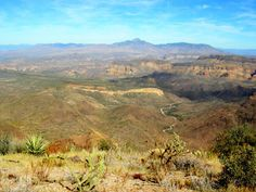 Superstition Ridgeline -  toughest hike but best view in the Wilderness