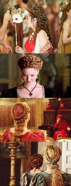 Renaissance hair...