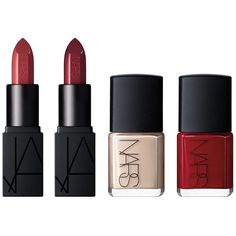 Nars Thousand Worlds Lip & Nail Gift Set (1 265 UAH) ❤ liked on Polyvore featuring beauty products, gift sets & kits, no color and nars cosmetics
