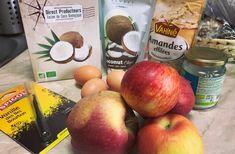 TARTĂ CU MERE FĂRĂ ZAHĂR ȘI FĂRĂ FĂINĂ DE GRÂU – BEATRICE ZIMȚA Peach, Apple, Fruit, Food, Sliced Almonds, Apple Fruit, Essen, Peaches, Meals