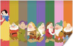 Disney Snow White Poster by disneylove417 on Etsy, $10.00