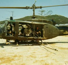UH-1 Huey ready to spray Agent Orange. My dad worked on helicopters that sprayed AO.  #VietnamWarMemories