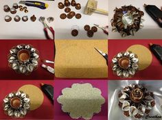 Nespresso:Istruzione per lume con dei calle ondulate!: Cup Crafts, Diy And Crafts, Arts And Crafts, Soda Can Tabs, Cup Art, Creation Deco, Nescafe, Coffee Pods, Upcycled Crafts