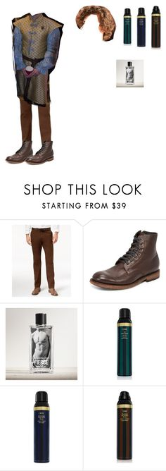 """Loras Tyrell"" by effyswanhaze on Polyvore featuring Tommy Hilfiger, Frye, Abercrombie & Fitch, Oribe, men's fashion e menswear"