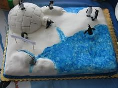 Happy Feet Birthday Cake By stnkrbll on CakeCentral.com