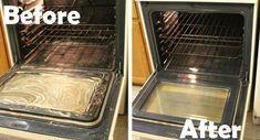 limpieza de horno con bicarbonato y vinagreHaz una pasta de bicarbonato de sodio y agua, úntala por todo el interior del horno. Déjala reposar toda la noche y con una franela húmeda retírala por la mañana, luego con un poco de vinagre en en un rociador debes retirar los restos de grasa. Prende durante 20 minutos tu horno en la temperatura más baja para que seque.