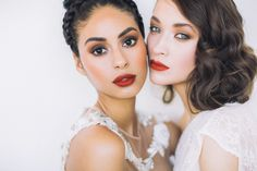 A must read for any bride still undecided on her wedding day make-up. We fell in love with this shoot by Bianca Harris and Erin Winn of The Look Beauty. We will let Bianca and Erin describe their l...