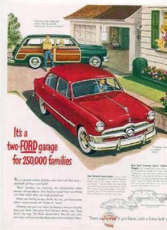 vintage car ads 1950s 1960s | vintage ads - THE H.A.M.B.