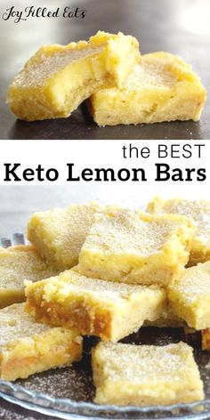 being a mom Keto Lemon Squares - Low Carb, Gluten-Free, Grain-Free, Sugar-Free, THM S - This easy Lemon Squares Recipe comes together in minutes. When you are craving a fresh and vibrant dessert my lemon bars will be a perfect fix. Desserts Keto, Desserts Sains, Keto Friendly Desserts, Sugar Free Desserts, Keto Snacks, Dessert Recipes, Holiday Desserts, Healthy Lemon Desserts, Stevia Desserts