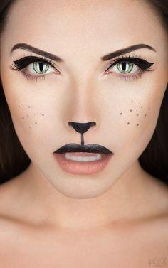 Make Up-Idee für die Karnevalparty