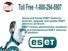 Keep your Eset Antivirus updated to fight against all system odds through Eset Support services at GlobalTech Squad to make your system ready to prevent any emerging threats.Toll free 1-800-294-5907 (USA) Visit for us:https://www.globaltechsquad.com/Eset-antivirus-support/