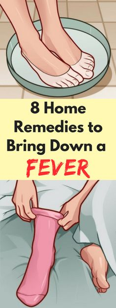 8 Home Remedies to Bring Down a Fever - Workout Hit