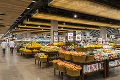 Supermarket Design, Store Design, Grocery Store, Retail, Table Decorations, Furniture, Home Decor, Architecture Office, Concept