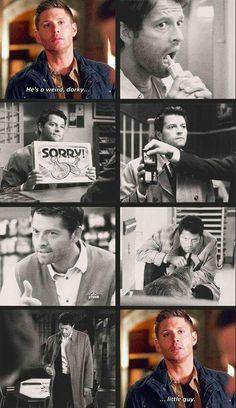 He is. But Misha you do it great! Plus ur a kick ass angel!