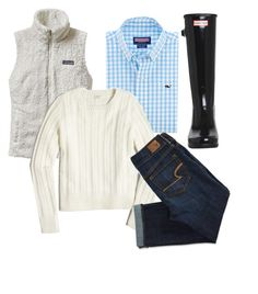 """""""Ootd🔥"""" by nc-preppy ❤ liked on Polyvore featuring Hunter, Patagonia, J.Crew and American Eagle Outfitters"""