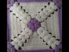 Easy Baby Blanket Construction - knitting for babies Granny Square Crochet Pattern, Crochet Stitches Patterns, Crochet Afghans, Crochet Squares, Baby Knitting Patterns, Crochet Motif, Crochet Designs, Easy Crochet, Crochet Flor