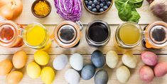 Naturally Dyeing Easter Eggs - Homemade Dye Recipes For Easter Eggs