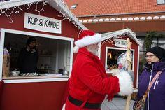 Santa in Skagen, Denmark