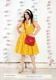 Always at the Red-y Bag, by Nica at Modcloth
