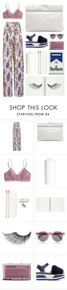 """""""."""" by mhurtiz ❤ liked on Polyvore featuring Matthew Williamson, Marie Turnor, Madewell, H&M, Kate Spade, Sugarpill, Illesteva, Korres, Dolce&Gabbana and trend"""