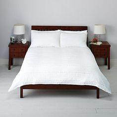 Buy John Lewis Kate Seersucker Duvet Cover and Pillowcase Set Online at johnlewis.com