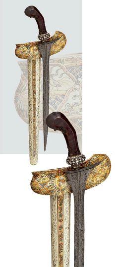 A Kris from the royal house of Surakarta, Java, circa 1900.