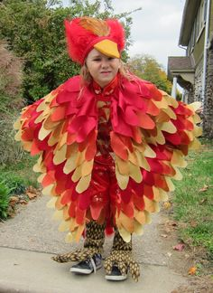Fawkes the Phoenix from Harry Potter - Homemade Halloween Costume …