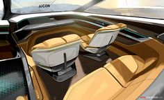 New 'Aicon' Concept Previews Autonomous Audi of the Future