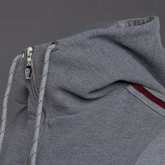 Cruyff Sergi FZ Hood - Mid Grey Marl