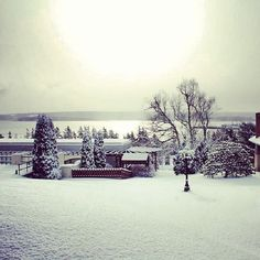 Happy Friday! Digby Pines was a sight to see this morning. #HappyFriday #DigbyPines #February #Winter #Morning #Snow #NovaScotia #Resort #WinterWonderland #Beautiful #Photography #PicoftheDay #Instagood