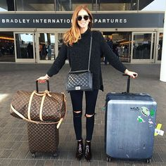 The Most Comfortable Clothes to Wear to the Airport via @WhoWhatWearUK