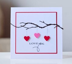 Heart Tree - TLLB by 3 Little Love Bugs - Cards and Paper Crafts at Splitcoaststampers. Could use the SIlhouette for this