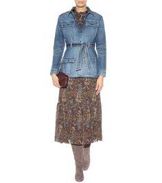 Saint Laurent - Denim jacket   mytheresa.com