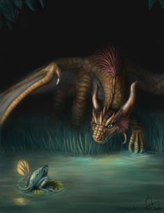 What are you looking at?  #dragon by miriamrez.deviantart.com on @DeviantArt