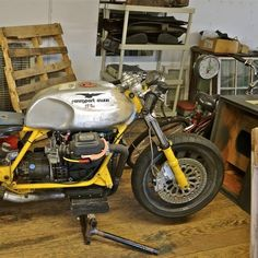 Rennsport Moto Guzzi race bike for sale on ebay