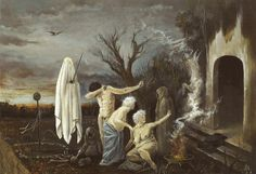 'Witches at their incantations' after Salvator Rosa David S. Herrerías