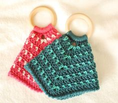 Crochet Pattern - Teether Lovey Pattern - Great Baby Gift Idea and Natural Teether Option - Instant Crochet Lovey, Crochet Blanket Patterns, Baby Patterns, Crochet Toys, Free Crochet, Knit Crochet, Crochet Gifts, Crochet Motif, Amigurumi Patterns