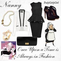 """Disney Style: Nanny"" by trulygirlygirl ❤ liked on Polyvore"