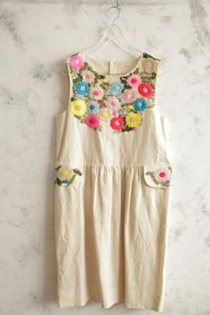 upcycled dress- i know this is for a child but i want it