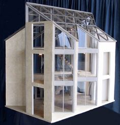 Mid Century Modern Dollhouse | Mark Turpin's Pine Island: Architecture In Miniature