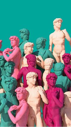 Read ✖statues✖ from the story vaporwave wallpapers by (Let me live with 825 reads. Iphone Wallpapers, Wallpaper Backgrounds, Vaporwave Wallpaper, Glitch Art, Cool Wallpaper, Aesthetic Wallpapers, Collage Art, Modern Art, Art Photography