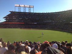 AT Park, Atlanta Braves vs. San Francisco Giants, 8/26/12, top of the third