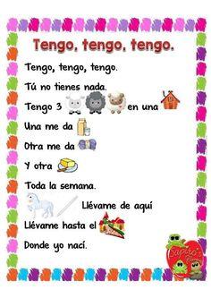 Colección de cuentos con pictogramas - Imagenes Educativas Preschool Spanish, Preschool Literacy, Toddler Learning Activities, Preschool Education, Spanish Classroom, Teaching Spanish, Teaching Babies, Spanish Vocabulary, Baby Play