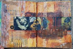 "Abby's Art: ""Redemption"" Altered Book"