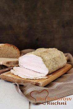 Schab pieczony w musztardzie. Juicy pork loin roasted in mustard
